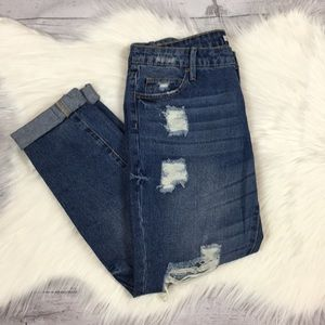 JustFab Ripped Jeans